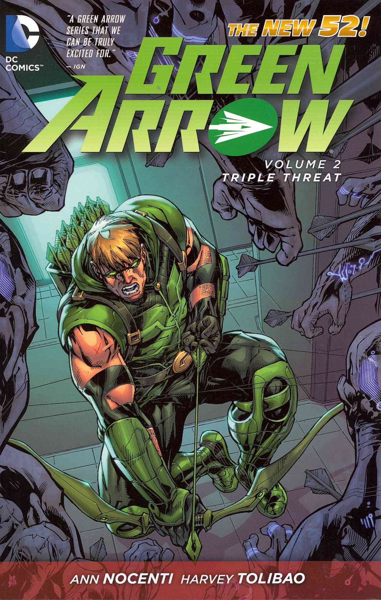 Green Arrow 2 By Nocenti, Ann/ Tolibao, Harvey (ILT)